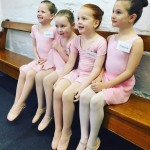 Beginner Ballet Students waiting for their Exam