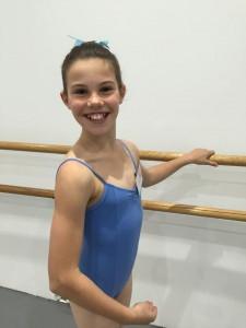 Student at Ballet Bar