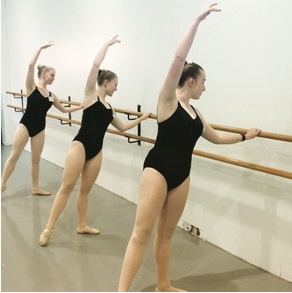 Students at Ballet Bar